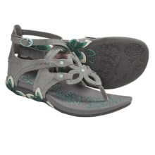 Cushe Sierra Sandals - Leather (For Women) in Grey - Closeouts