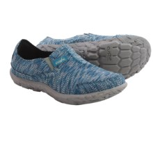 Cushe Slipper II Shoes - Slip-Ons (For Women) in Blue Knit - Closeouts