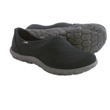 Cushe Slipper Loa Shoes - Slip-Ons (For Women) in Charcoal - Closeouts