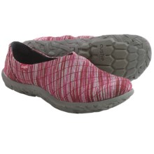 Cushe Slipper Loa Shoes - Slip-Ons (For Women) in Red Woven - Closeouts