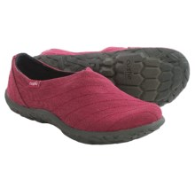 Cushe Slipper Loa Shoes - Slip-Ons (For Women) in Red - Closeouts