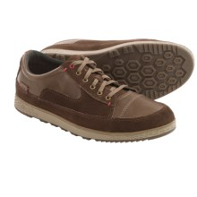 Cushe Sonny Lace-Up Shoes - Leather-Suede (For Men) in Dark Brown/Red - Closeouts