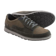 Cushe Sonny Lace-Up Shoes - Leather-Suede (For Men) in Dark Grey - Closeouts
