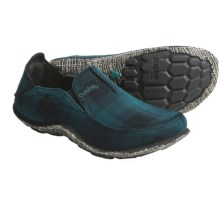 Cushe Surf-Slipper Loafer Shoes - Canvas (For Men) in Greem Tartan - Closeouts