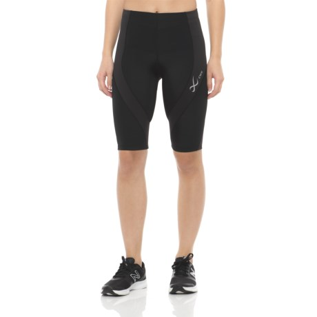 CW-X Endurance Pro Shorts - UPF 50+ (For Women) in Black