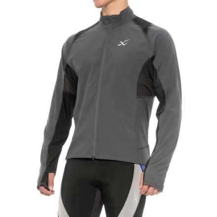 CW-X Endurance Run Jacket - UPF 60+ (For Men) in Charcoal - Closeouts