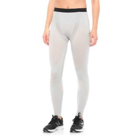 CW-X Stabilyx Mesh Under Tights (For Women) in Light Grey