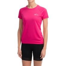 CW-X Ventilator Mesh Shirt - UPF 35+, Short Sleeve (For Women) in Pink - Closeouts