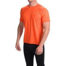 CW-X Ventilator Shirt - UPF 35+, Short Sleeve (For Men) in Orange - Closeouts