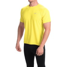 CW-X Ventilator Shirt - UPF 35+, Short Sleeve (For Men) in Yellow - Closeouts
