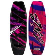 CWB Board Co. 2011 Sapphire Wakeboard - Ember Bindings (For Women) in Graphic - Closeouts