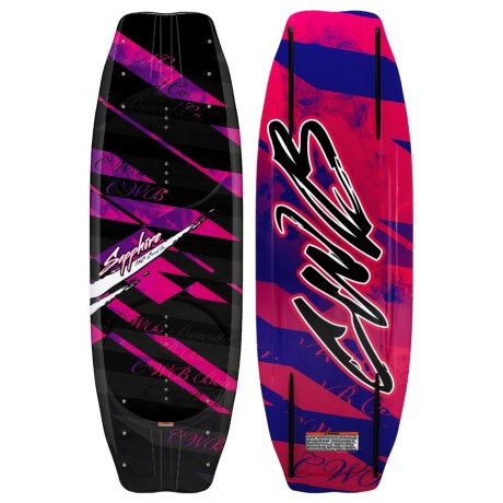 CWB Board Co. 2011 Sapphire Wakeboard - Ember Bindings (For Women) in Graphic