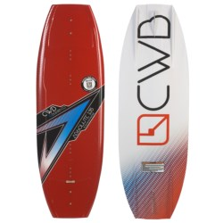 CWB Board Co. Absolute Wakeboard - G6 Bindings in 135 Graphic