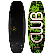 CWB Board Co. DB9 Wakeboard - AA Bindings in Graphic - Closeouts