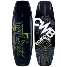 CWB Board Co. Faction Wakeboard - 2nds in 138 Graphic - 2nds