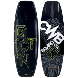 CWB Board Co. Faction Wakeboard - 2nds in 138 Graphic