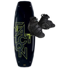 CWB Board Co. Faction Wakeboard - Vapor Bindings in 138 Graphic - Closeouts