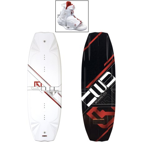 CWB Board Co. Pure Wakeboard - Torq Bindings in 134 Graphic