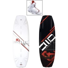 CWB Board Co. Pure Wakeboard - Torq Bindings in 141 Graphic - Closeouts