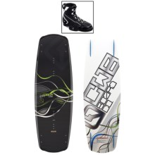 CWB Board Co. Saber Wakeboard - G6 Bindings in 139 Graphic - Closeouts