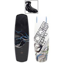 CWB Board Co. Saber Wakeboard - G6 Bindings in 145 Graphic - Closeouts