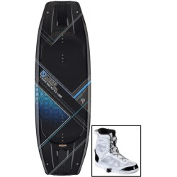 CWB Board Co. Transcend Wakeboard - Answer Bindings in 138 Graphic