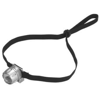 Cyclops Atom LED Headlamp in Silver