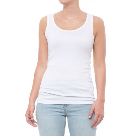 Cynthia Rowley 1x1 Double Scoop Tank Top (For Women)