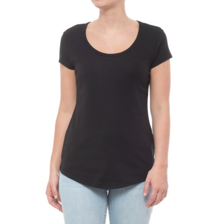 00d8353f4d0a Cynthia Rowley 1x1 Scoop Shirttail T-Shirt - Short Sleeve (For Women) in