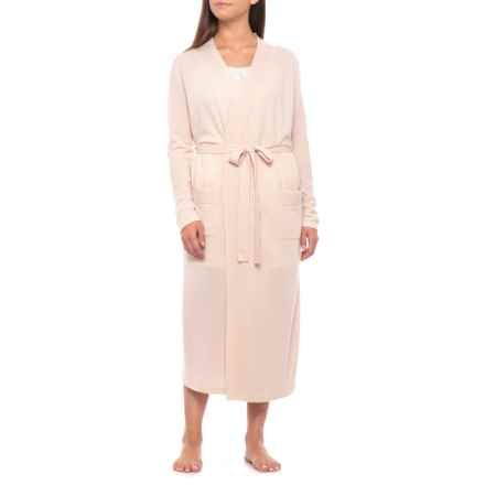 Cynthia Rowley Boxed Cashmere Robe (For Women) in Italy Beige - Closeouts