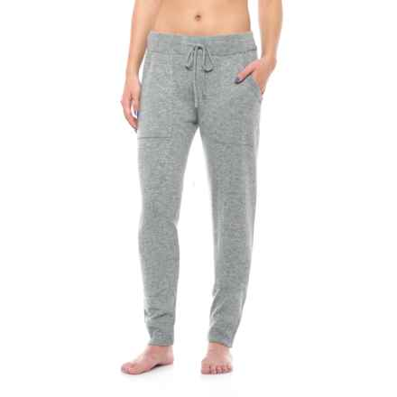 Cynthia Rowley Cashmere Joggers (For Women) in Steeple Grey Heather - Closeouts