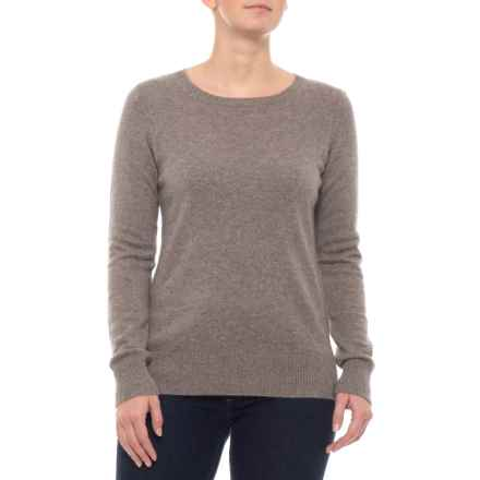Cynthia Rowley Cashmere Sweater (For Women) in Taupe Night Heather - Closeouts