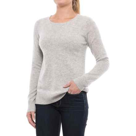 Cynthia Rowley Cashmere Sweater (For Women) in True Flint Heather - Closeouts