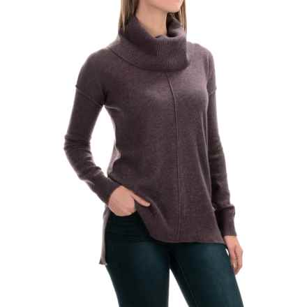 Cynthia Rowley Cashmere Turtleneck Sweater (For Women) in Smokey Raisin - Closeouts