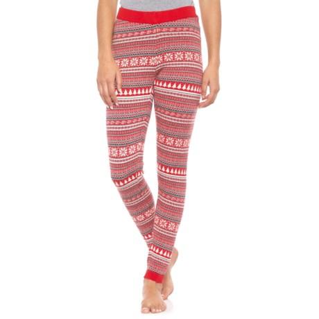 f6146ee85b Cynthia Rowley Christmas Tree Leggings (For Women) in Lava Red  Steeple  Grey