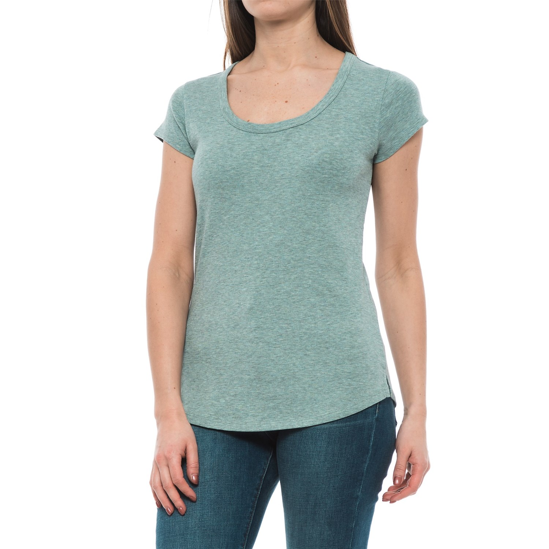 Cynthia Rowley Cotton Modal T Shirt For Women Save 33