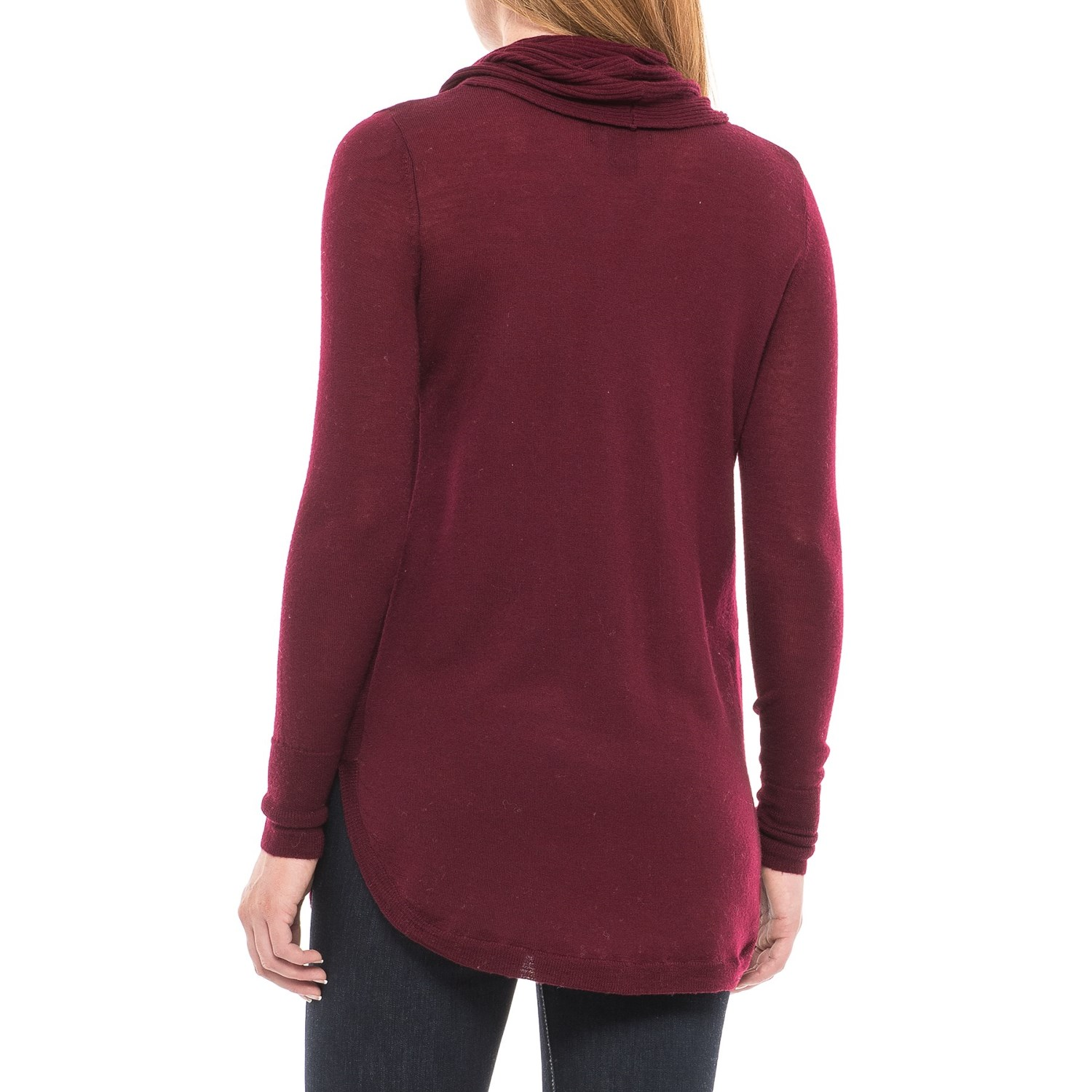 Cynthia Rowley Cowl Neck Tunic Sweater (For Women) - Save 48%