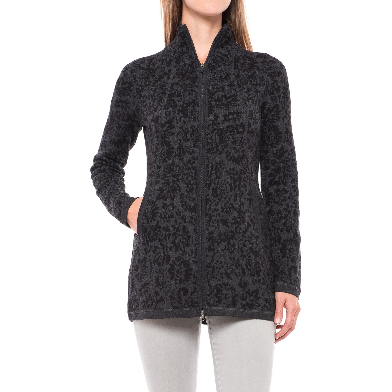 Cynthia Rowley Double Knit Cardigan Sweater For Women