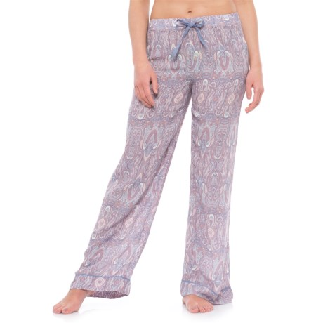 Cynthia Rowley Guienevere Paisley Pajama Pants (For Women) in Pink