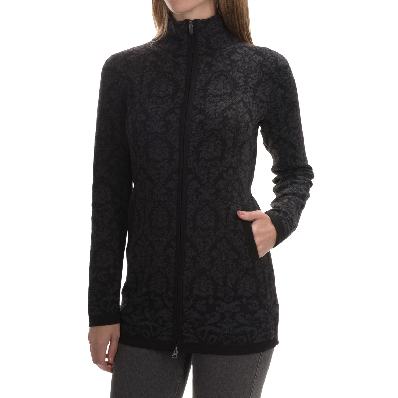 Cynthia Rowley Jacquard Cardigan Sweater For Women