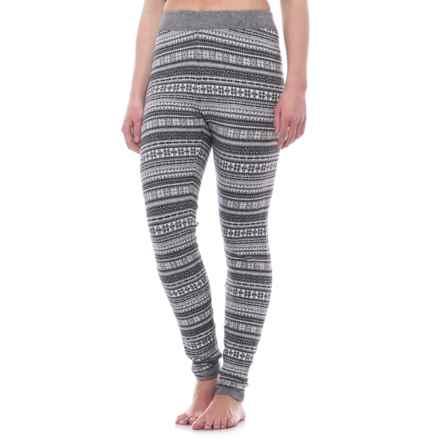 f76a271197897 Cynthia Rowley Jacquard Snowflake Leggings (For Women) in Grey Combo -  Closeouts