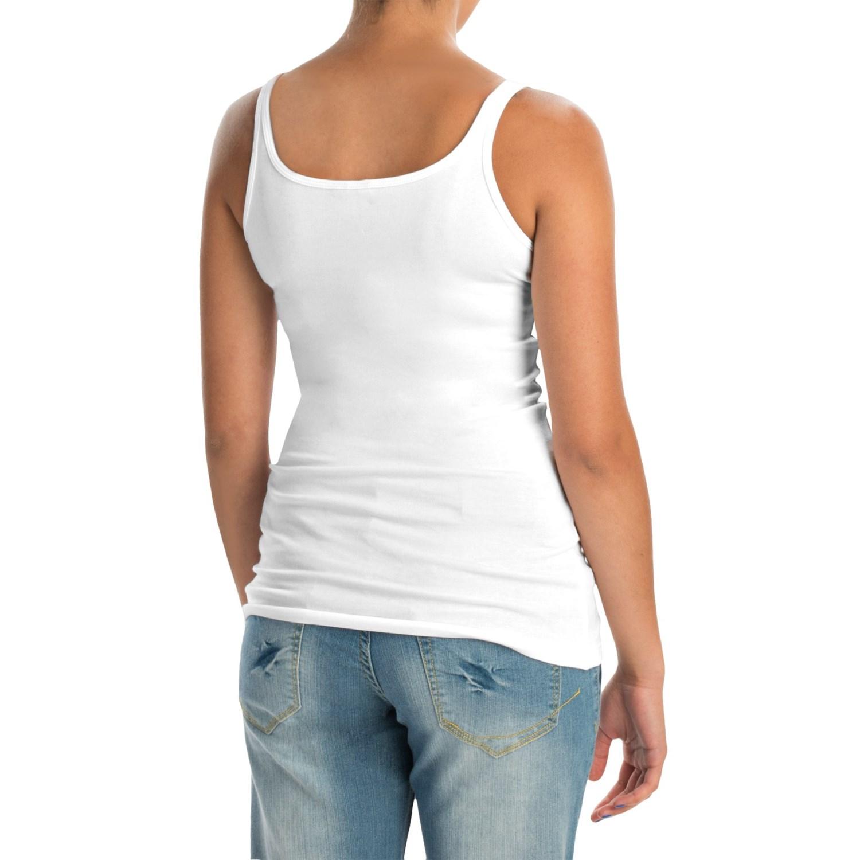 Cynthia Rowley Pima Cotton Modal Tank Top For Women