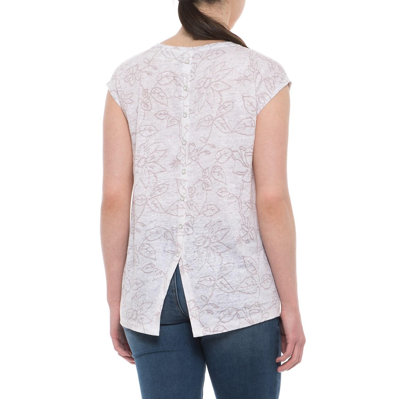 ed88e87298dc8 Cynthia Rowley Printed Dolman Shirt - Short Sleeve (For Women)
