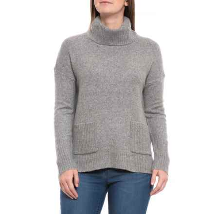Cynthia Rowley Pullover High-Low Sweater (For Women) in Steeple Grey Heather - Closeouts