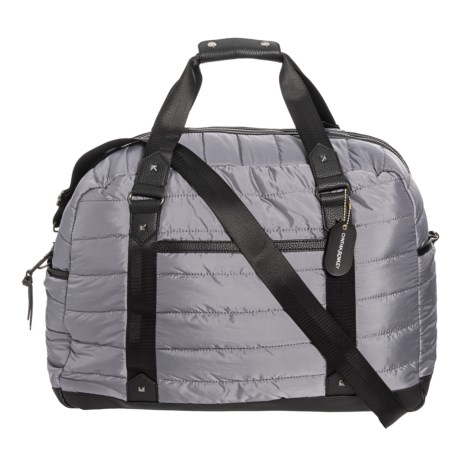 4124e5f3925 Cynthia Rowley Quilted Nylon Duffel Bag (For Women) in Charcoal