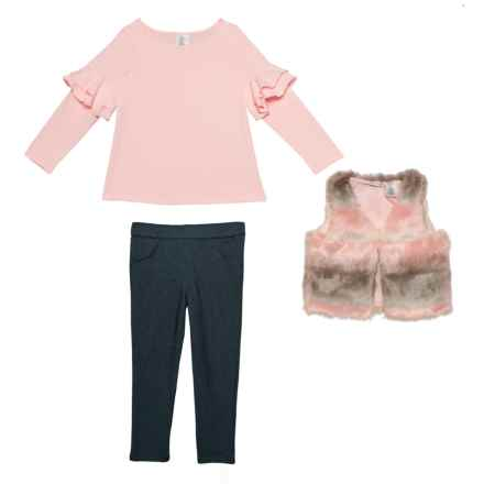 1dd485804 Cynthia Rowley Shirt, Jeggings and Unicorn Vest Set - Long Sleeve (For Toddler  Girls