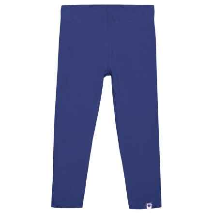 Cynthia Rowley Solid Jersey Leggings (For Big and Little Girls) in Medieval Blue - Closeouts