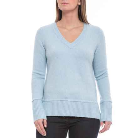 aad18439c31 Cynthia Rowley V-Neck Sweater (For Women) in Frost Solid - Closeouts