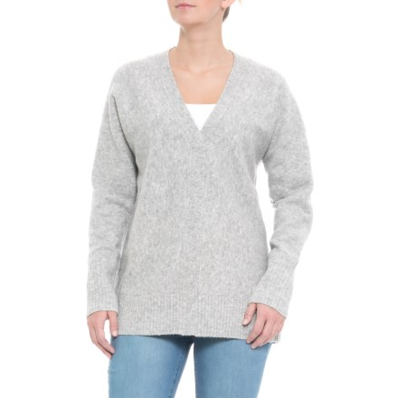 b3b088bb27 Cynthia Rowley V-Neck Sweater (For Women) in Grey - Closeouts