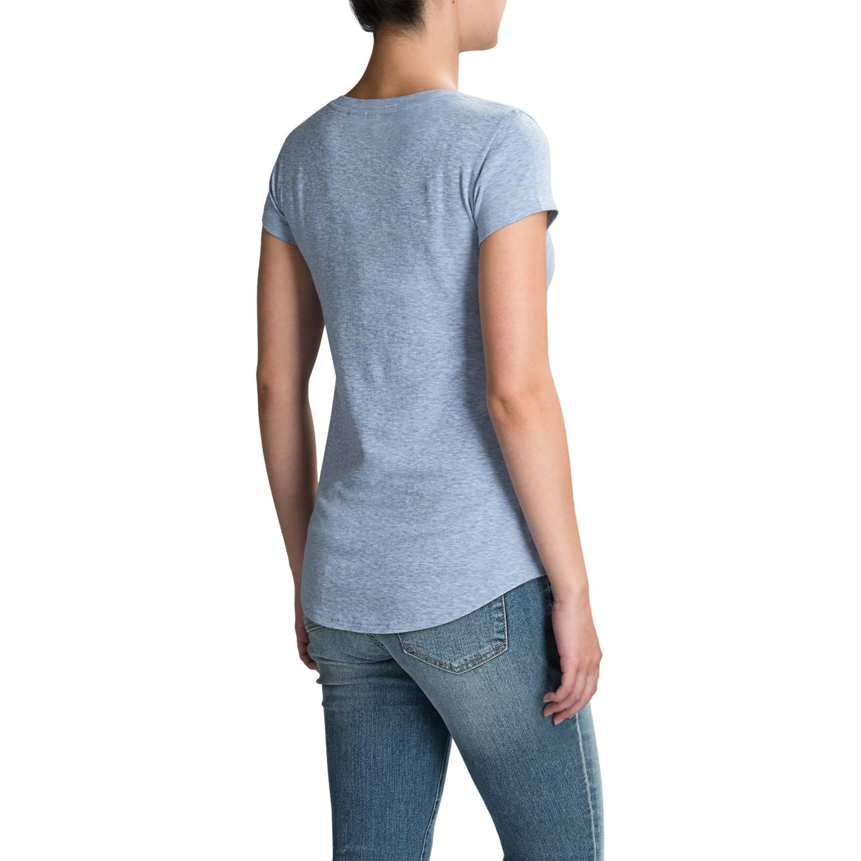 cynthia rowley v neck t shirt for women save 65